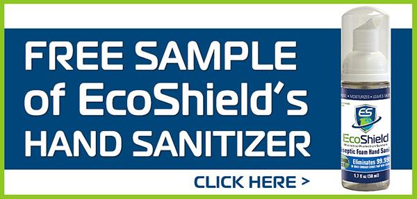 Free Sample of EcoShield's Hand Sanitizer